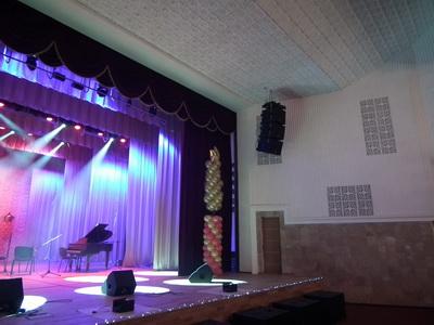 Компания SoundHouse Pro совместно с компанией CORTMI провели полное переоснащение аудио, видео и световых систем во дворце культуры Содового завода в г. Красноперекопск
