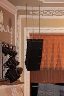 Кластер линейного массива NOVA Elite из 4 топов EL 10 в Донецком национальном академическом украинском музыкально-драматическом театре
