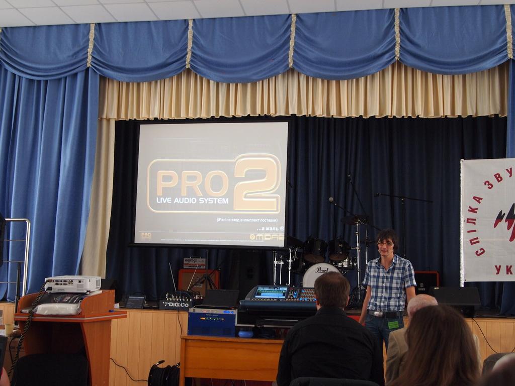 Презентация Midas PRO2C
