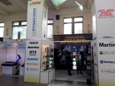 """Стенд компании """"КОРТМИ"""" на выставке """"Украинская музыкальная ярмарка 2013"""""""