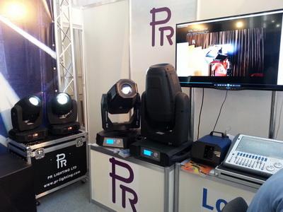 Современные фавориты света PR Lighting – лучевые головы XR-300 и флагманские головы XL 1200 Framing и PR-5000